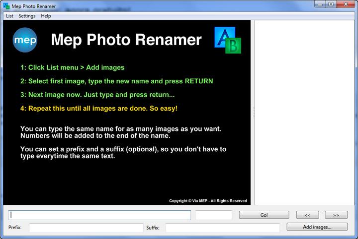 mep photo renamer windows