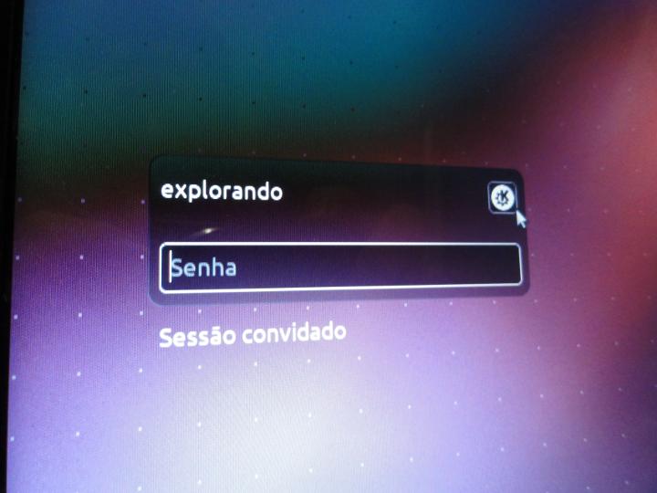escolher desktop ubuntu