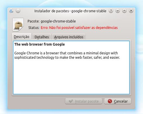 chrome no linux
