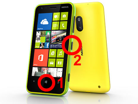 capturar imagem de tela windows phone