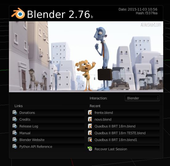 dicas de Blender