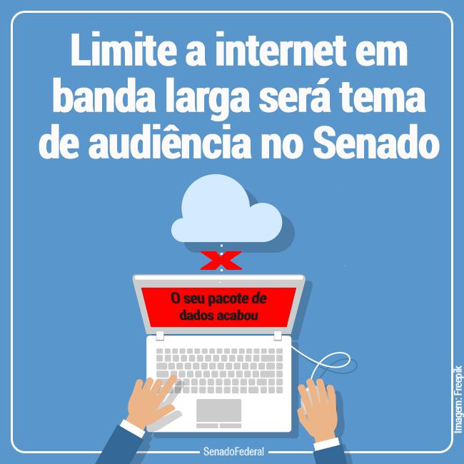 internet limitada senado