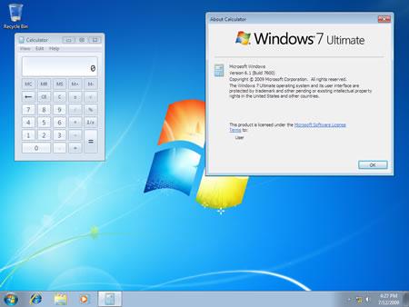 windows 7 rtm 7600