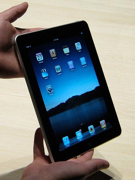 foto do iPad