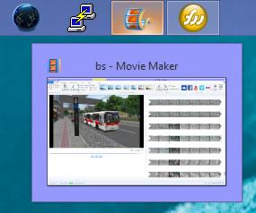miniatura barra de tarefas windows 8