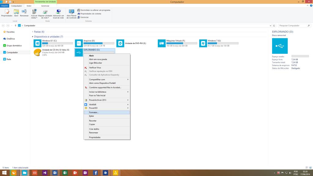 FormatandoPenDrive